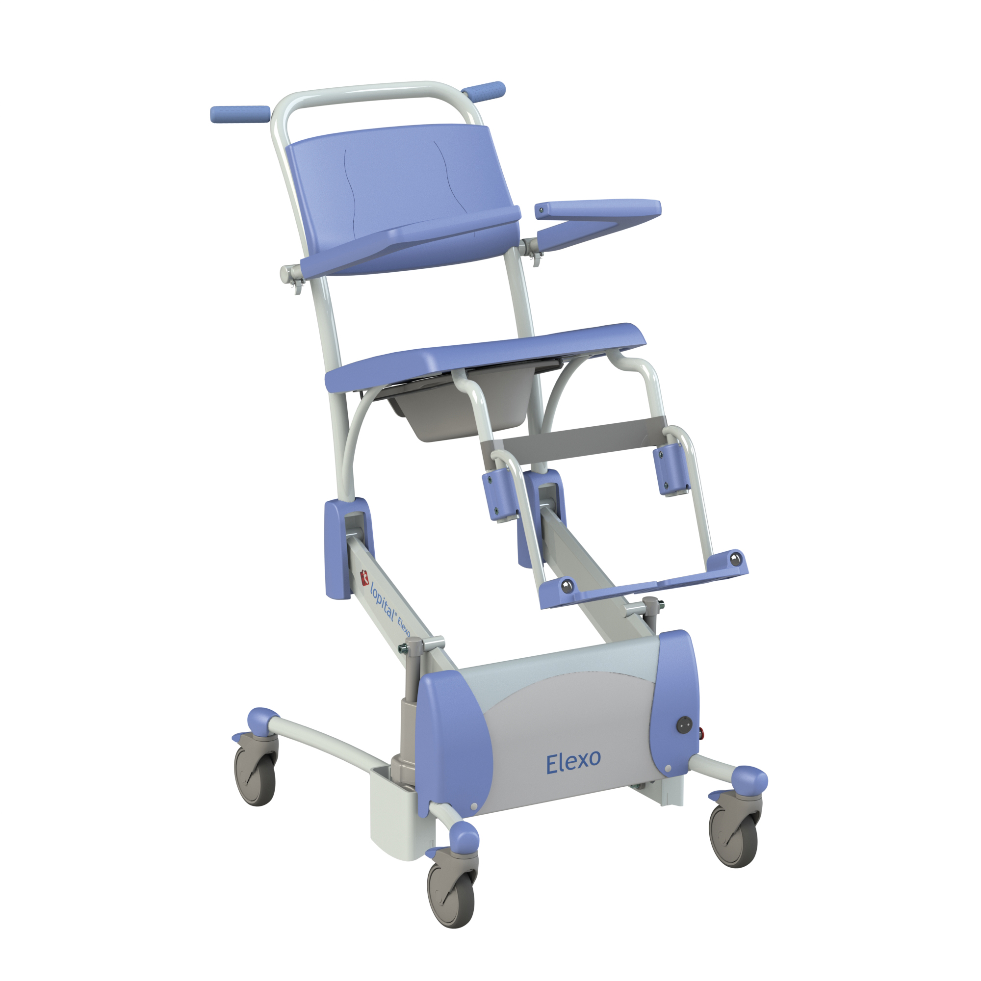 pampas pro shower trolley view new