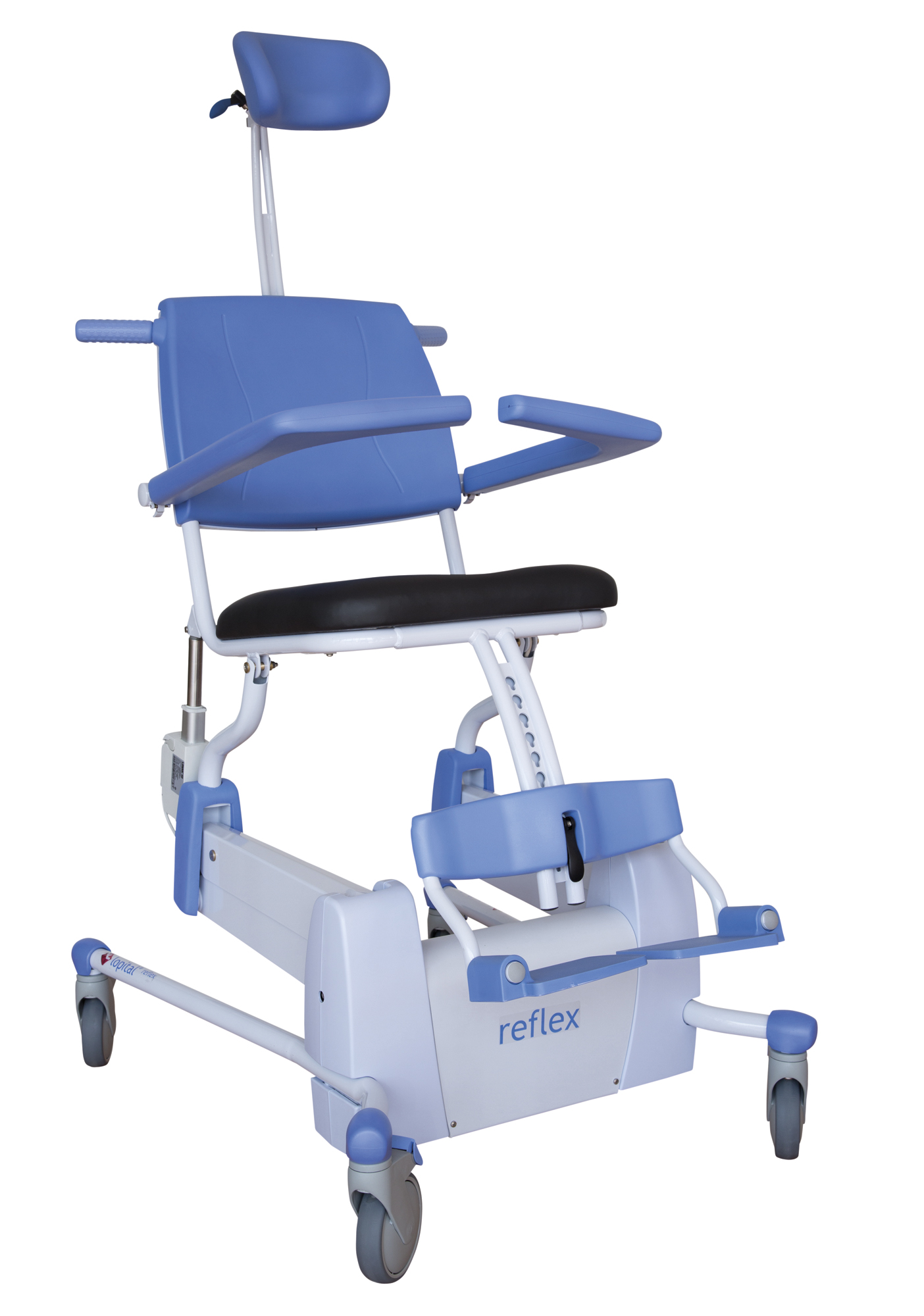 Reflex Shower-Toilet chair - Lopital EN