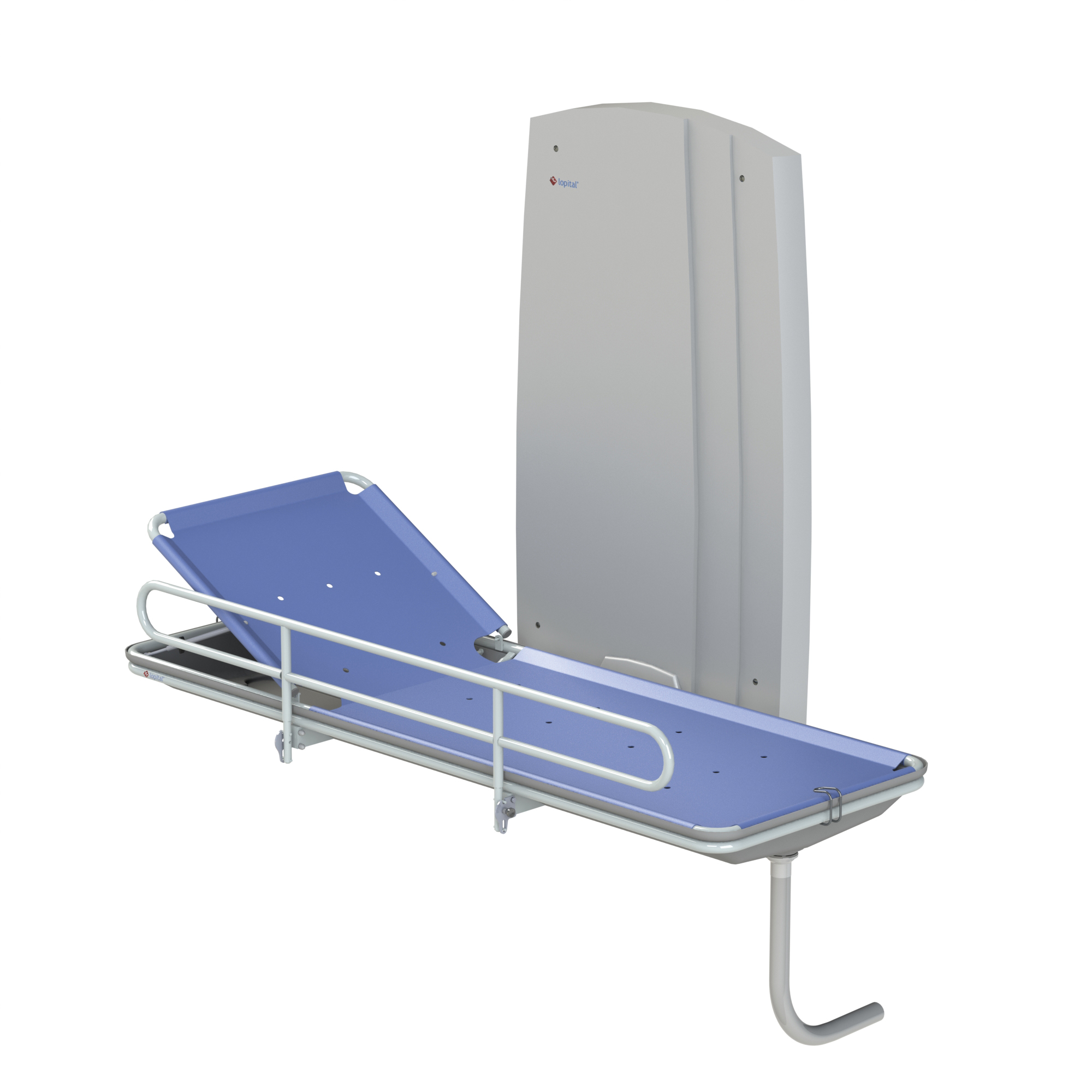 multicare product and astor shower trolley table changing showering electric mobile bannerman